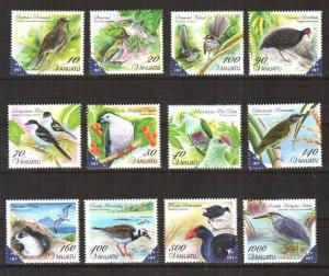Vanuatu 2012. [n0287] Birds, MNH