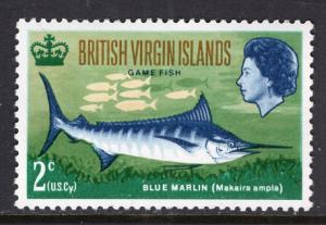 British Virgin Islands 186 Fish MNH VF