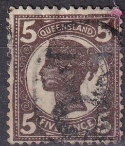 Queensland #119 F-VF  Used CV $3.25  (A19137)