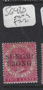 MALAYA SUNGEI UJONG (P0702B)  QV  2C   SG  43D   MOG