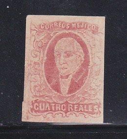 Mexico 4c MNG Manuel Hidalgo, Mexican Leader