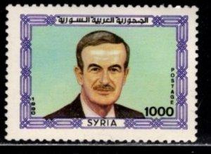 Syria - #1219 President Assad - MNH
