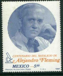 MEXICO 1241 Centenary of the Birth of Alexander Fleming MNH