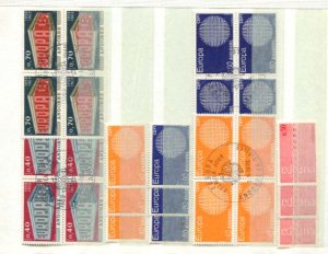 Andorra Accumulation MNH/Used CV$1000.00 Europa Issues On Small Stockpages [9...