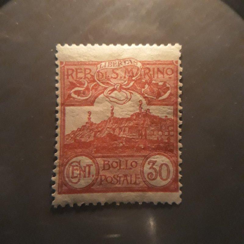 San Marino 56     1925  single  VFNH
