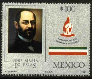 MEXICO 1472 Rotunda interment of Jose Ma. Iglesias. MINT, NH. F-VF.