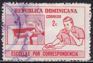Dominican Rep 703 Hinged 1972 Publicity for Correspondence