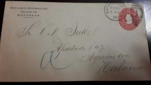 O) 1902 SPANISH ANTILLES, US OCCUPATION, PRIVATE POSTAL STATIONERY COLUMBUS 2c,