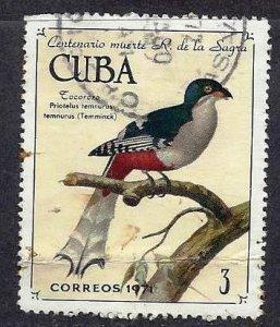 CUBA #1661, USED fold damaged - 1971 - CUBA1112