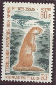 Afars and Issas Scott 314 MNH** key 1967 stamp CV$27.50