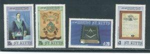 St. Kitts 169-72  MNH cgs