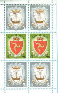 Great Britain-Isle Man # 146a 20p Complete Booklet (1)  Mint NH