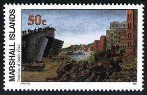 Marshall 479,MNH.Michel 500. WW II,Invasion of Anzio,Jan.22,1944,1994.