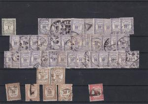 France USED Postage Due Stamps Ref 31735