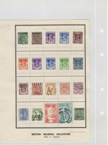 Burma MM +Used Stamps On Page Ref: R4577