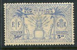 British New Hebrides #45 Mint