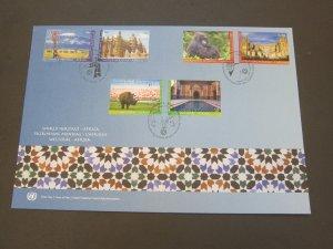 United Nations (NY,Vienna,Geneva) 2012 Sc 518-9,556-7,1051-2 FDC