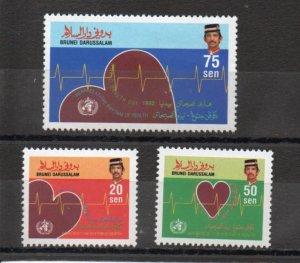 Brunei 436-438 MNH