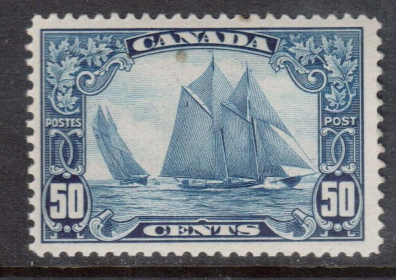 Canada #158iii VF/NH Man On The Mast Variety **With Certificate**