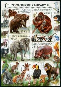 HERRICKSTAMP NEW ISSUES CZECH REPUBLIC Sc.# 3765 Zoological Gardens