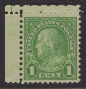US Stamp #632 1 Franklin MINT NH SCV $.35