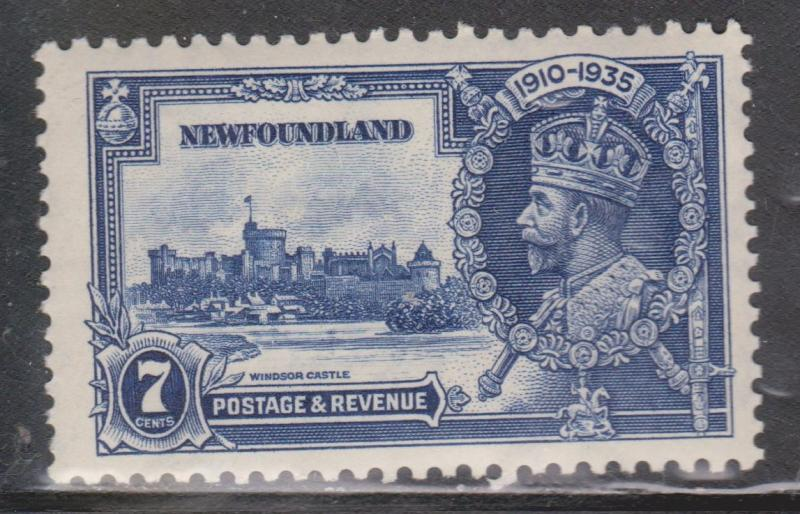 NEWFOUNDLAND Scott # 228 - Mint Never Hinged KGV Silver Jubilee Issue