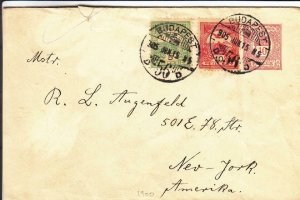 1905, Budapest, Hungary to New York, NY (24380)