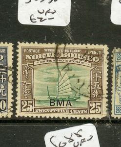 NORTH BORNEO (B0802) 25C  ROYAL CYPHER  SG330   VICTORIA LABUAN   VFU