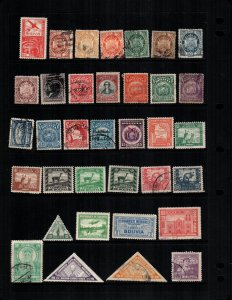 Bolivia  33  different MH and used