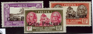 New Caledonia Q4, Q5, Q6 Mint F-VF...French Colonies are Hot!