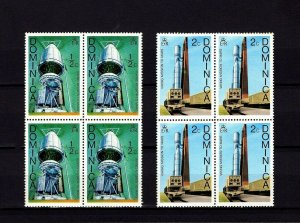 DOMINICA - 1976 - SPACE - VIKING - MISSION TO MARS - TITAN + 2 X MNH BLOCKS!