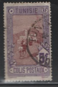 TUNISIA , Q10, USED, 1906 Mail delivery