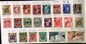 ALGERIA STAMP USED STAMPS COLLECTION LOT   #9