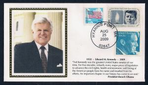 UNITED STATES Ted Kennedy Memorial COMBO 2009 Colorano