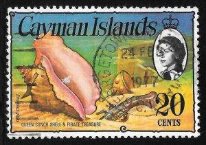 [7069] Cayman Islands # 341 Used