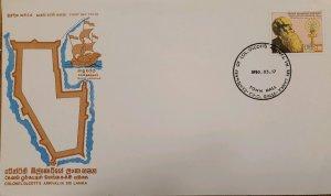 O) 1980 SRI LANKA, COLONEL OLCOTT´S AMERICAN THEOSOPHIST AND BUDCHIST, LECTURER