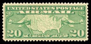 momen: US Stamps #C9 Mint OG NH XF