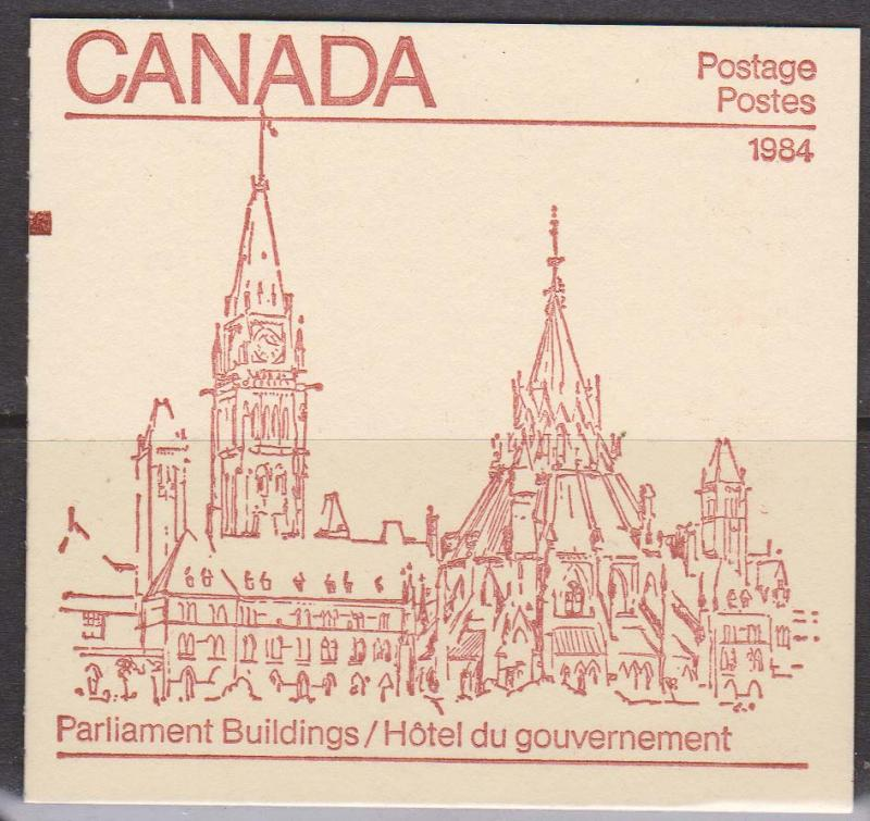 Canada USC #BK85b Counter 1984 On Cover - 32c Harrison Paper