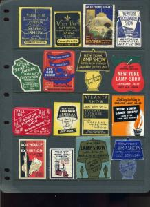 47 HOUSEWARES, LAMPS, FURNITURE, TEXTILES/LINEN, FURNITURE & MORE POSTER STAMPS