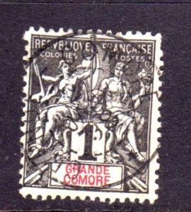 GRANDE GRANDI COMORE FRANÇAISE GRAND COMORO 1897 1907 PAIX NAVIGATION AND CO...