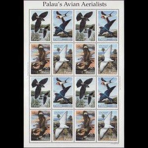 PALAU 1994 - Scott# C23F Sheet-Birds NH