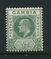 Gambia #28 Mint