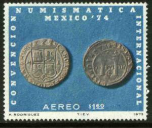MEXICO C461, International Numismatic Convention. MINT, NH. VF.