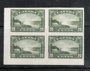 Canada #225a Extra Fine Never Hinged Imperf Corner Block **With Certificate**