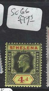 ST HELENA   (PP1303B)   KE 4 D  SG 66   MOG