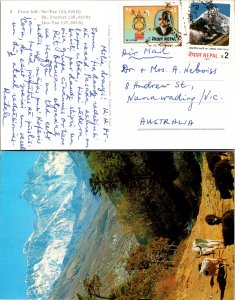 Nepal, Picture Postcards