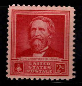 USA Scott 875 MNH** 2 cent red Dr. Crawford Long Great Amearican stamp