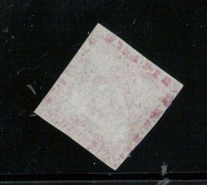 Nova Scotia #6 Used Fine - Tiny Thin **With Certificate**