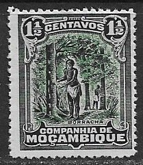 Mozambique Company ~ Scott # 112 ~  Unused ~ No Gum