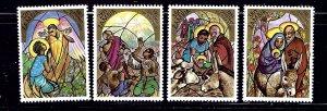 Zambia 292-95 MNH 1983 Christmas    (ap1074)